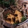 Mini Gingerbread Honey Layer Cakes
