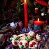 Peppermint M&M's Christmas Cookies