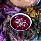 Roasted Beetroot Fennel Soup