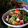 Smoked Oyster Citrus Cheddar Salad
