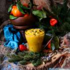 Tangerine Thyme Cardamom Curd
