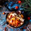 Honey Persimmon Crêpes