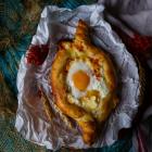 Khachapuri – Georgian Cheese Filled Bread