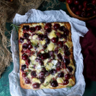 Cherry Smoked Meat Flatbread Pizza