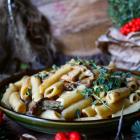 Creamy Porcini Mushroom Pasta