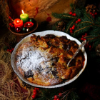 Panettone Christmas Pudding