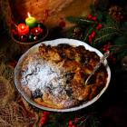 Panettone Christmas Pudding