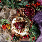 Baked Cranberry Walnut Brie