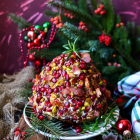 Pistachio Cranberry Bacon Cheese Ball
