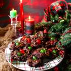 Chocolate Fruit Cake Cookies