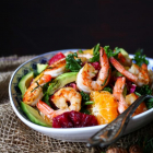 Citrus Avocado Shrimp Salad