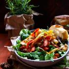 Caramelized Carrot Parsnip Salad