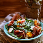 Strawberry Mango Prosciutto Salad
