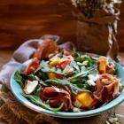 Strawberry Mango Prosciutto Salad
