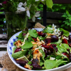 Cherry Chicken Smoked Cheese Salad