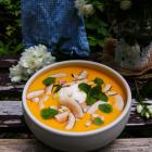 Mango Coconut Dessert Soup