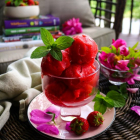 Strawberry Rose Sorbet