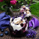 Blueberry Lavender Eton Mess