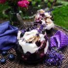 Blueberry Lavender Eton Mess