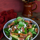 Fig Avocado Smoked Salmon Salad