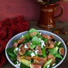 Fig Avocado Smoked Salmon Salad