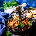 Creamy Chicken Breasts with Prunes