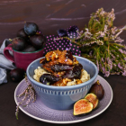 Fig Walnut Honey Oatmeal