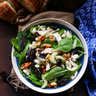 Chicken Celery Prune Walnut Salad