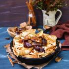 Fig Walnut Honey Crêpes