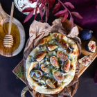 Fig Blue Cheese Flatbread