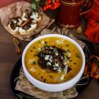 Butternut Squash Porcini Soup