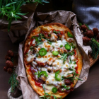Caramelized Onion Tuna Flatbread