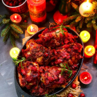 Roasted Cranberry Rosemary Chicken