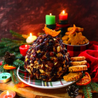 Almond Cranberry Cheese Ball