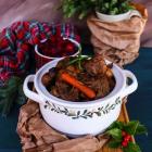 Beef Mushroom Chestnut Stew