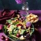 Cherry Almond Coconut Salad
