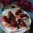 Cherry Maple Bruschetta