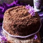 Chocolate Maple Whiskey Cake