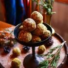 Date Pistachio Coconut Truffles