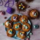 Easter Nest Coconut Cookies