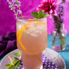 Lavender Orange Gin Cocktail