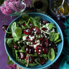 Pearl Couscous Cherry Salad