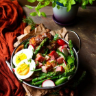Potato Ham Egg Salad