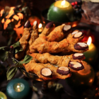 Witches' Fingers Cheese Biscuits