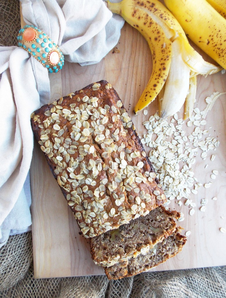 Banana Oat Bread (2)