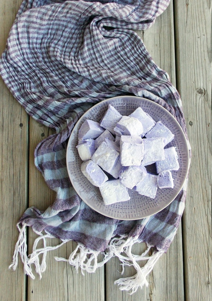 Lavender Marshmallows