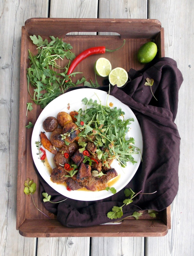 Rhubarb Sauce Stewed Pork (3)