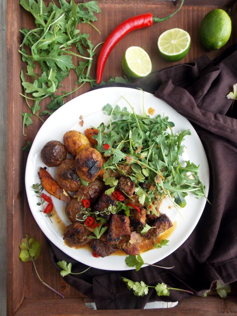 Rhubarb Sauce Stewed Pork (7)