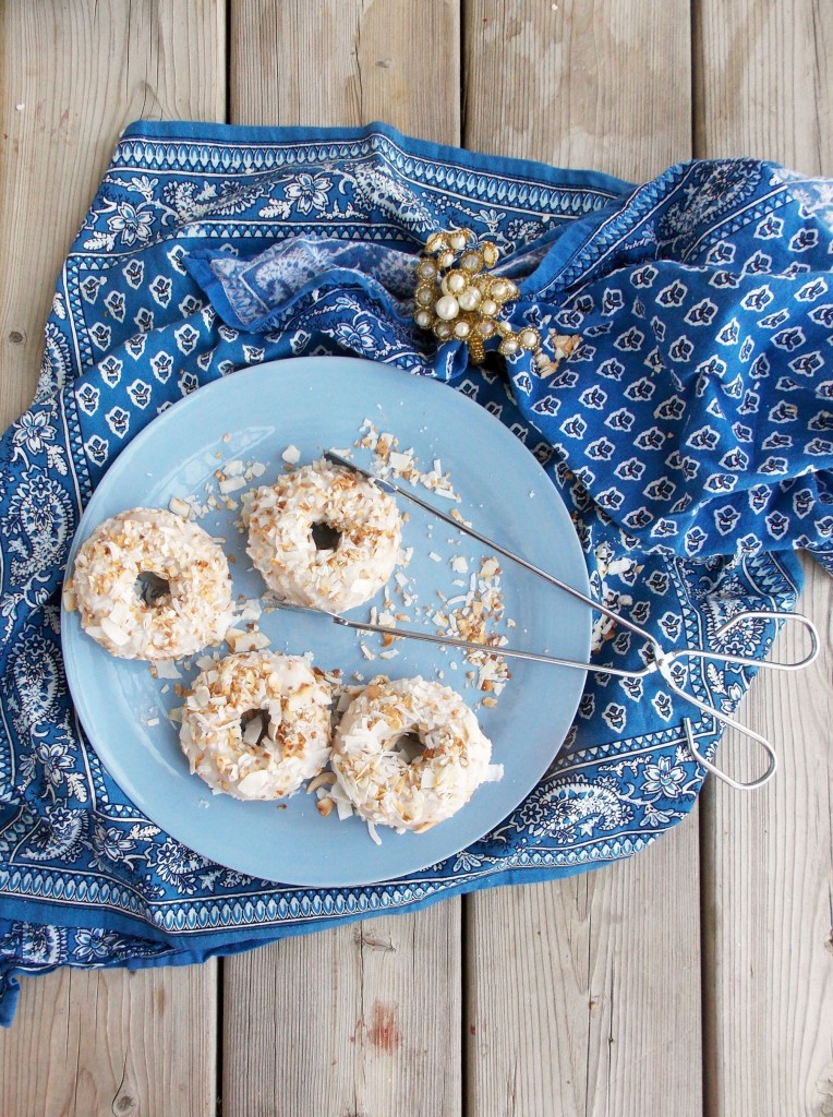 Toasted Coconut Cake Donuts (4)