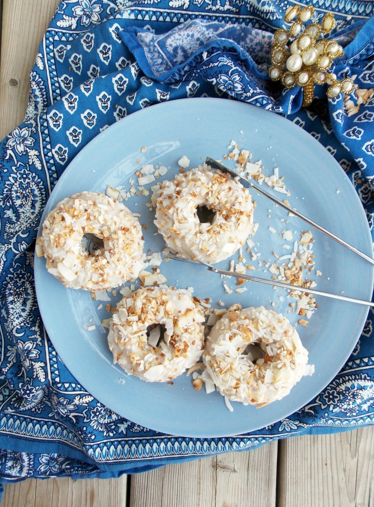 Toasted Coconut Cake Donuts (5)